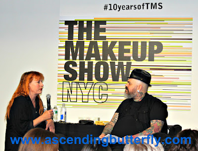 Signature Style Ellis Faas q n a presentation 1 with James Vincent during The Makeup Show 2015 in New York City #10 yearsofTMS WATERMARKED, The Makeup Show, Beauty, Cosmetics, #bbloggers, Lifestyle Blogger