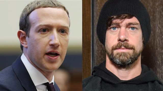 O CEO do Twitter, Jack Dorsey, deixou de seguir Mark Zuckerberg no Twitter.
