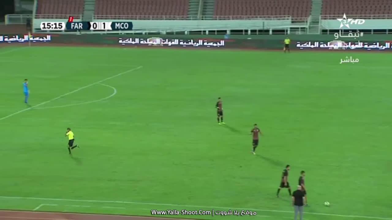 أهداف مباراة الجيش الملكي 1-1 مولودية وجدة بتاريخ 2020-08-24 الدوري المغربي