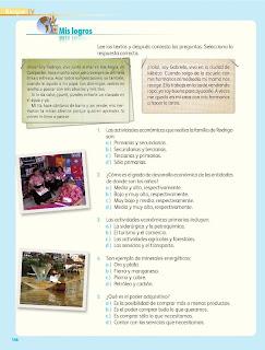 Apoyo Primaria Geografía 4to. Grado Bloque IV Lección 4 Mis logros