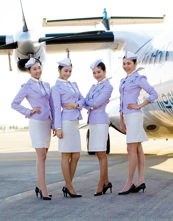 uniform flugbegleiter azur air