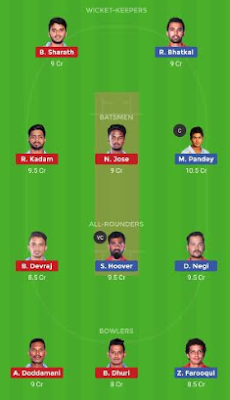 BP vs BB dream 11 team | BB vs BT