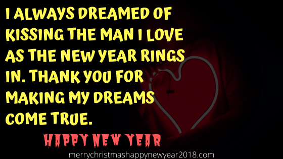 Romantic Happy New Year Messages for Girlfriend