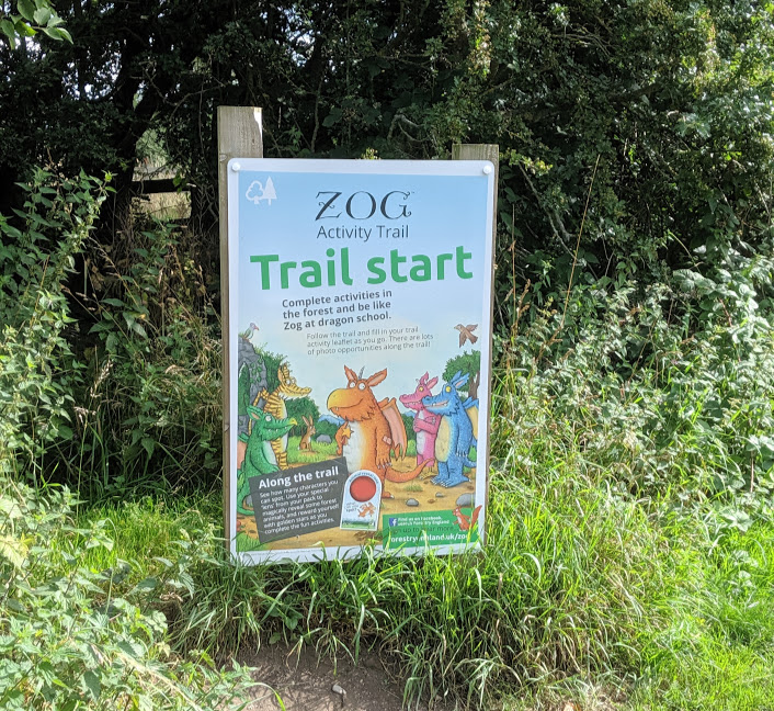 Zog Trail at Guisborough Forest