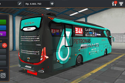 Livery Bussid Mod Bis Scania
