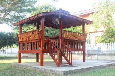 Holz Pavillon Thailand