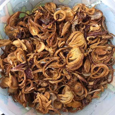 homemade bawang goreng