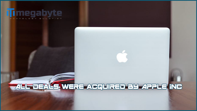 All deals were acquired by Apple Inc