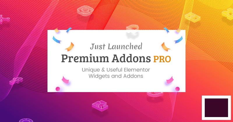 Premium Addons PRO NULLED–Premium Addons for Elementor