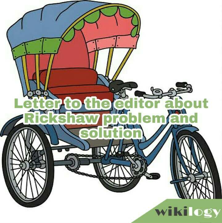 Letter to the editor about Rickshaw problem and solution