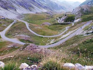 La strada del Colle dei Morti
