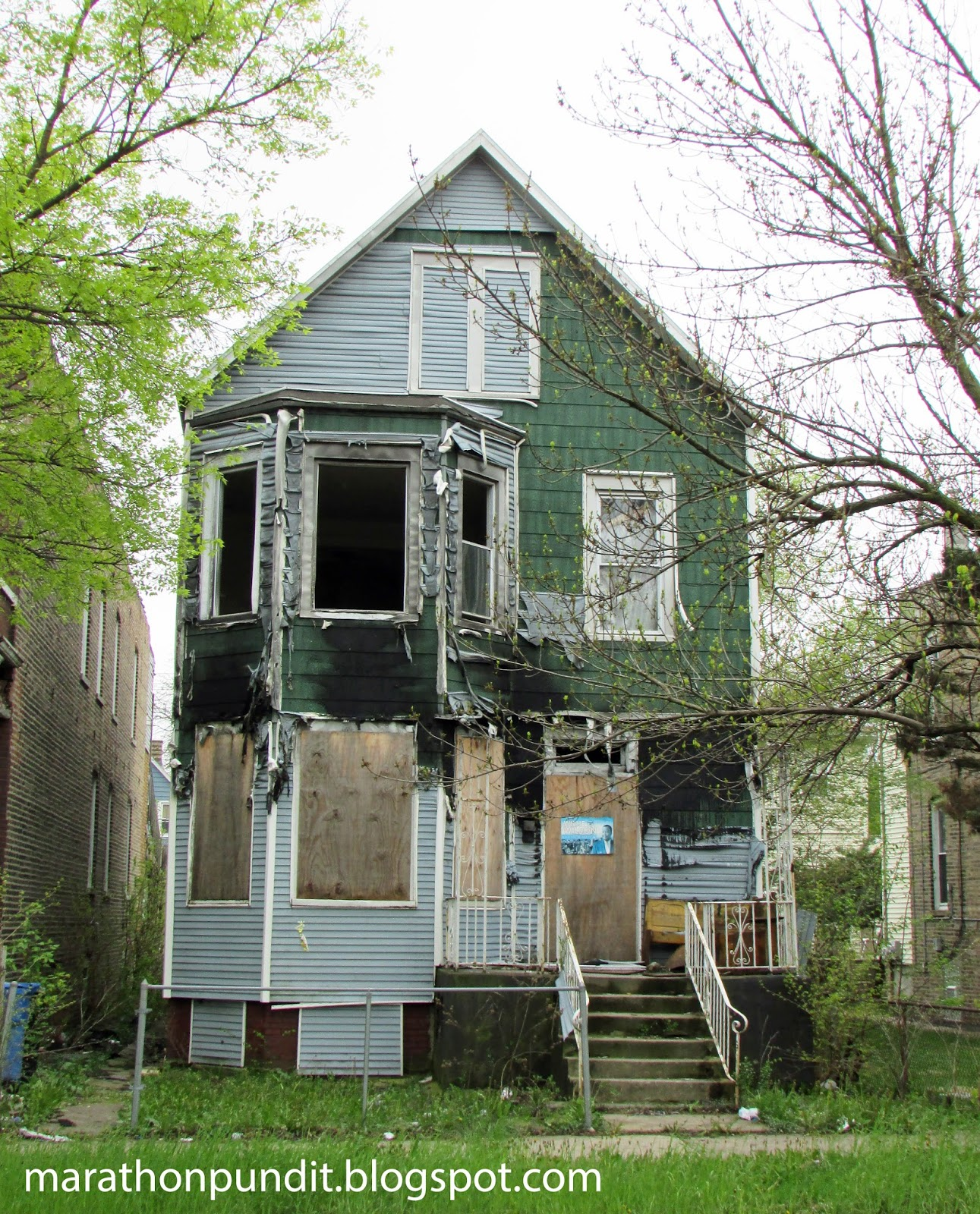 Marathon Pundit: (Photos) The Abandoned Homes Of Chicago's