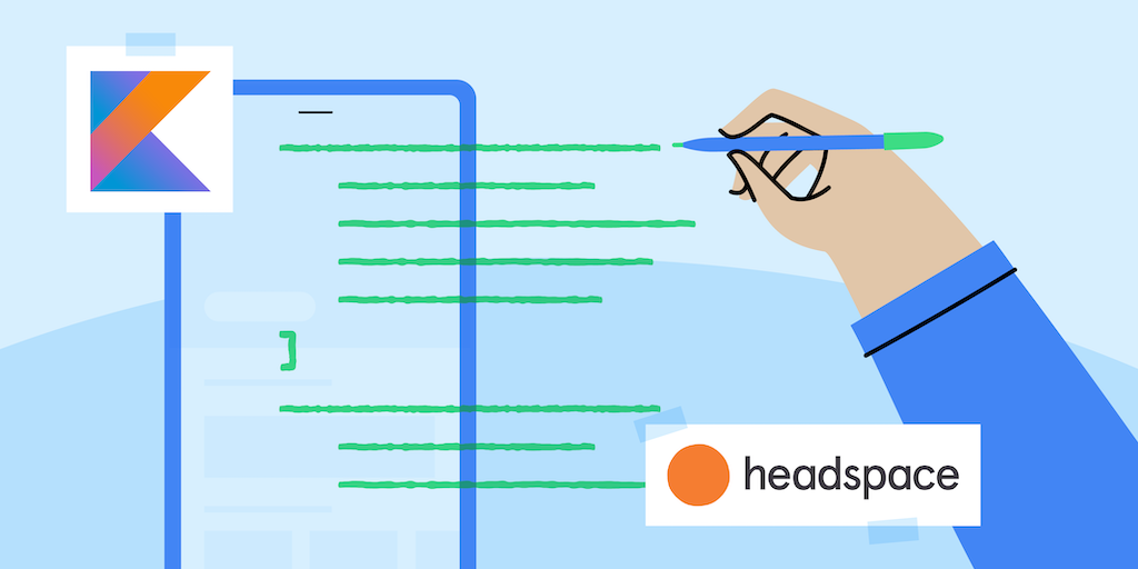 Headspace Technical case study graphic