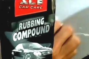 Cara Menggunakan Rubbing Compound Alfa Car Care - Penghiang Baret