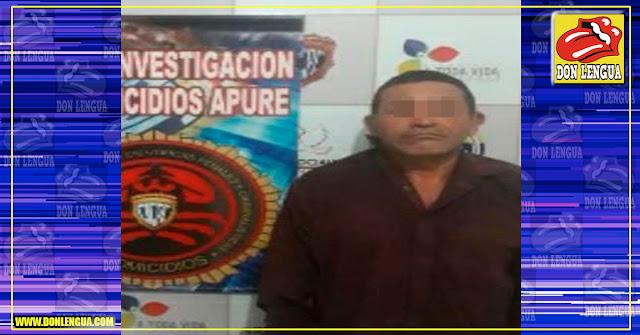 CICPC presenta al chavista que abusó de una niña de 8 años en Apure