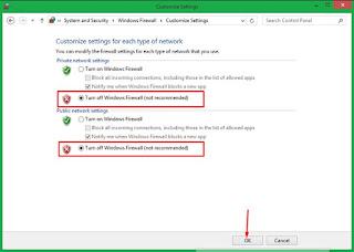 Cara Mengaktifkan dan Menonaktifkan Firewall di Windows 8