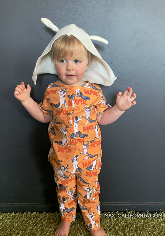 where the wild things are romper • www.max-california.com