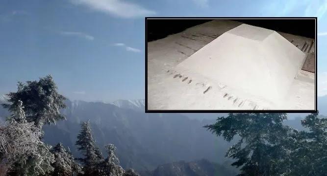 Η Λευκή Πυραμίδα του  Xi'an  ή γιατί η Κίνα διατηρεί  ως μυστικές τις πληροφορίες για τις πυραμίδες της?
