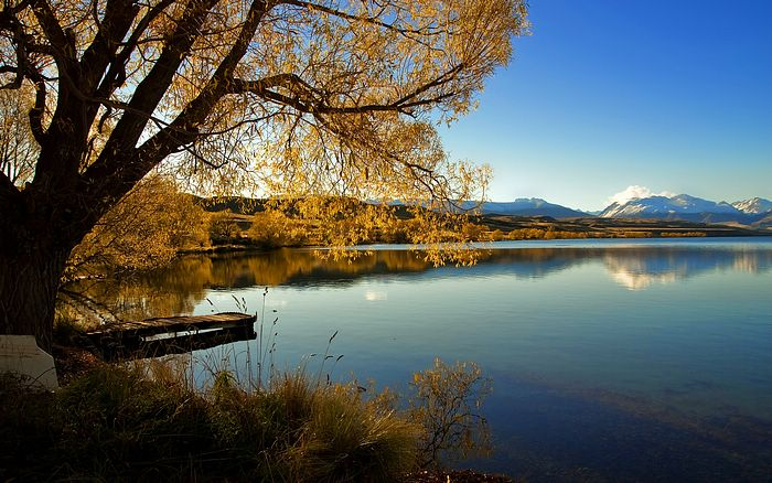 Pemandangan New Zealand Gambar Pemandangan