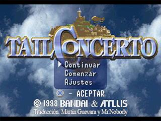 tail concerto traduccion castellano