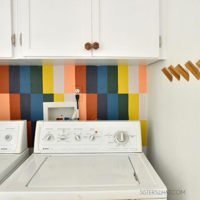 laundry room mural ideas