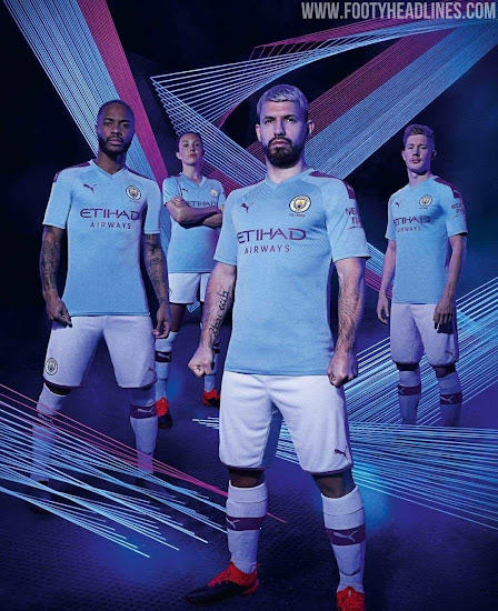 timeless design eb23f a6edd Manchester City 19-20 Home Kit Released - Footy Headlines