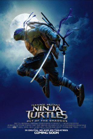 فيلم Teenage Mutant Ninja Turtles Out of the Shadow 2016 مترجم