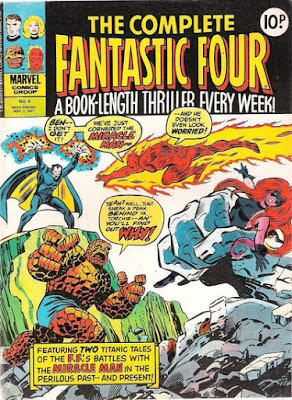 Complete Fantastic Four #6, the Miracle Man