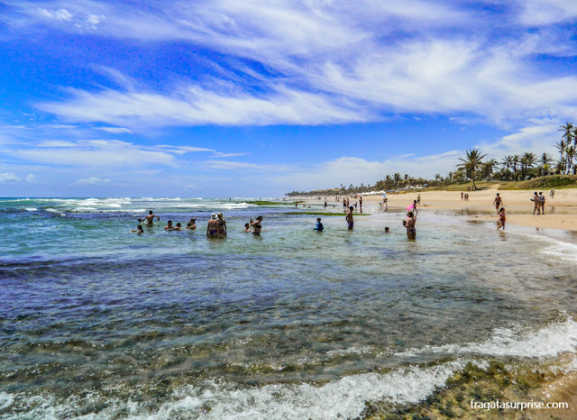 Praia de Stella maris, Salvador
