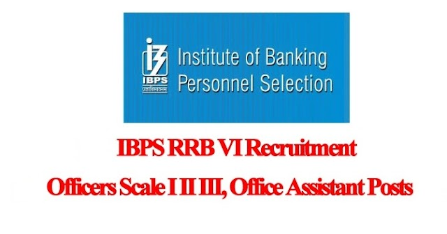 IBPS RRB 2018 - Apply Online