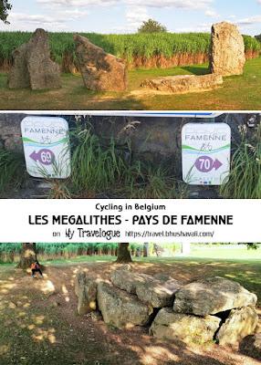 Les Megalithes Pays de Famenne velo cycling route