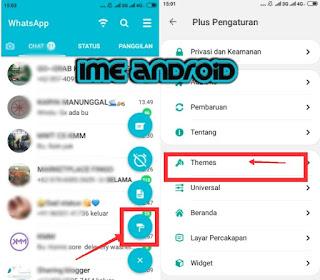 Cara mengaktifkan whatsapp mode gelap