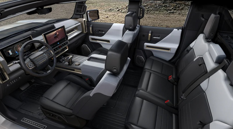 New Hummer Interiors