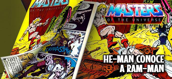 Minicómic He-Man conoce a Ram-Man Mattel 1982
