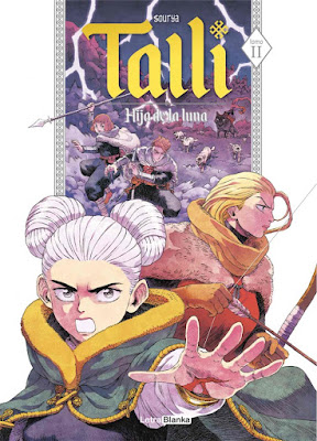 Manga: Review de Talli: Hija de la Luna Vol.2  de Sourya - Letrablanka Editorial