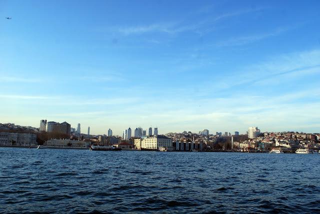 Стамбул, вид с Босфора, Турция.