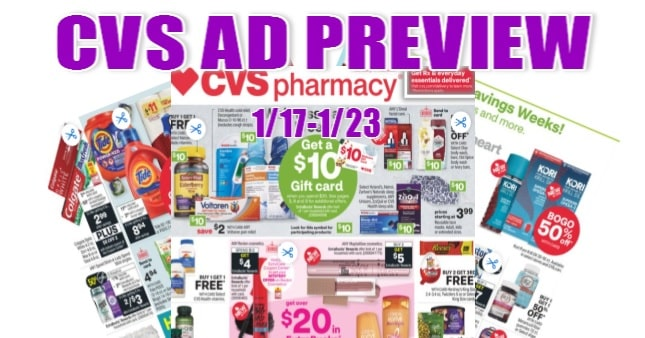CVS Ad Scan 1/17 to 1/23