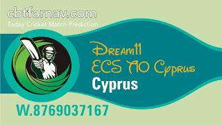 Cricfrog Who Will win today European Cricket Series Cyprus vs Nicosia 23 July ECS Ball to ball Cricket today match prediction 100% sure