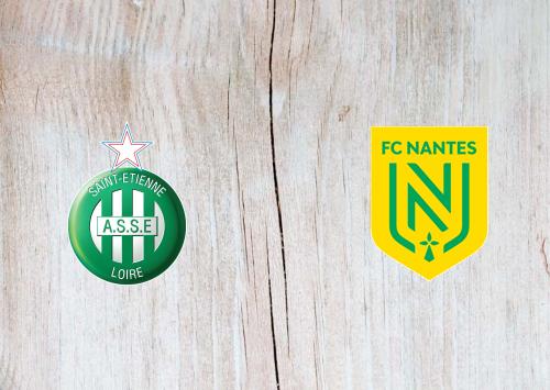 Saint-Etienne vs Nantes -Highlights 12 January 2020