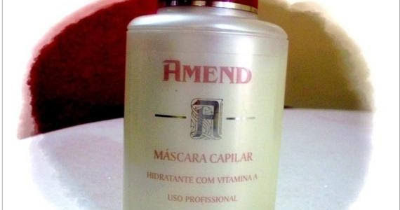 Máscara Amend com Vitamina A
