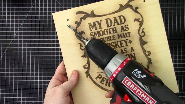 Singe Pen, Wood Sign, Sketch Pen, Gift, Heat Gun