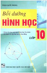 Bồi Dưỡng Hình Học Lớp 10 - Phạm Quốc Phong