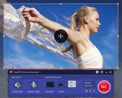 تحميل برنامج تصوير شاشة الكمبيوتر AnyMP4 Screen Recorder