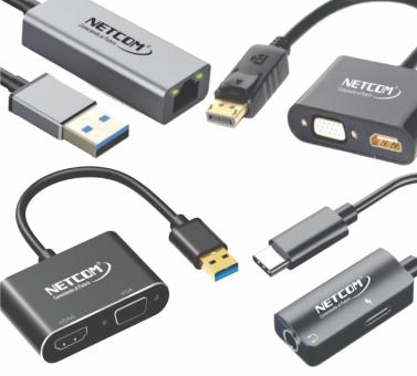 Cables de Audio y Vídeo - Convertidores