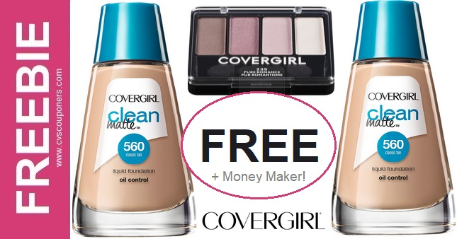 FREE CoverGirl Liquid Foundation at CVS 11-8-11-14