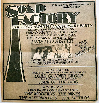 Soap Factory band lineup
