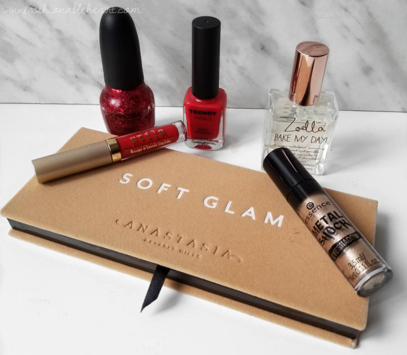 bblogger, bbloggers, bbloggerca, canadian beauty blogger, southern blogger, beauty blog, monthly favorites, 2018, december, stila, stay all day liquid lipstick, beso, sephora by opi, be-claus i said so, trendy nails, thefaceshop, zoella, bake my day, mist, scent, abh, soft glam, palette, essence cosmetics, metal shock, shadow, solar explosion