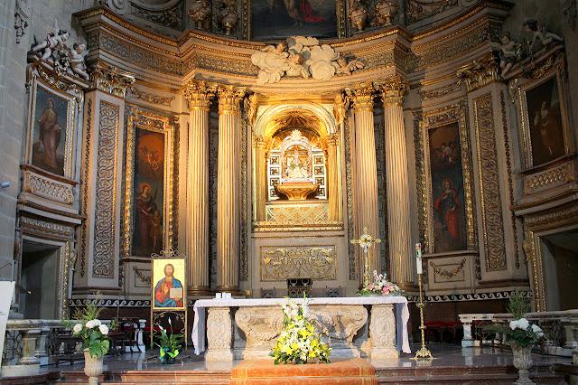 Nef de la basilique Sainte Marie du Choeur, San Sebastian