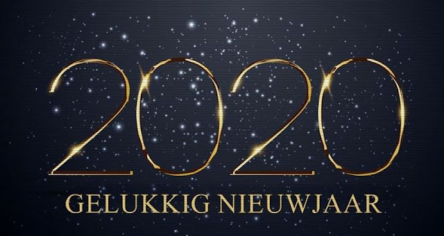 Nieuwjaar 2020 Gelukkig