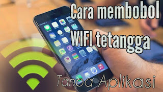 2 Cara Membobol Wifi Tetangga Lewat Hp Dengan Laptop Tanpa Aplikasi